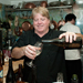 Chef John Newman toasts success with a glass of Oregon wine